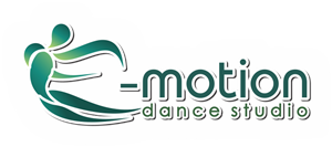E -motion dance studio logo