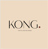 KONG. Cafe & Cocktail Room logo